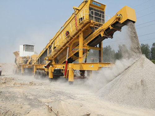 mobile-construction-waste-crusher