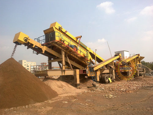 mobile-construction-waste-crushing-price