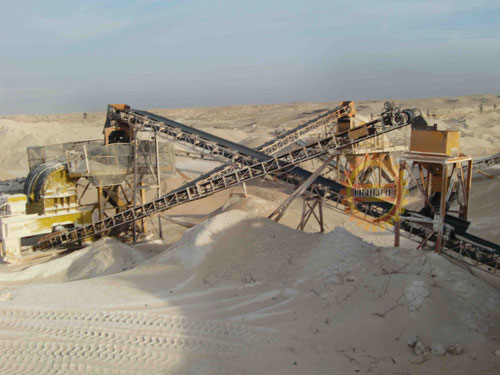 sand-production-line